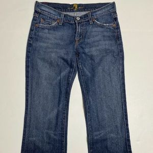 7 For All Mankind Women Size 26 Jeans Bootcut
